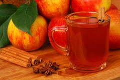 Apple cider Stock Photo