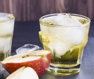 Apple-cider stock afbeelding