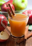 Apple Cider. With cinnamon Stock Image