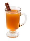 Apple Cider And Cinnamon Stick Royalty Free Stock Photo