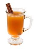 Apple-Cider en Pijpje kaneel Royalty-vrije Stock Foto