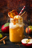 Apple cider float Royalty Free Stock Photos