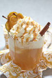 Apple cider float Royalty Free Stock Photo