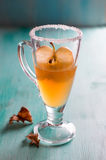 Apple cider or fruit tea Royalty Free Stock Image