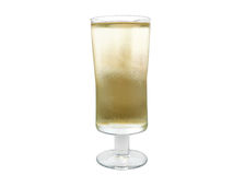 Apple cider in a glass glass Royalty Free Stock Photography