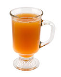 Apple Cider in a Glass Mug Royalty Free Stock Photos