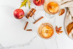 Apple cider martini margarita Stock Photography