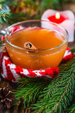 Apple cider rum punch Stock Photography