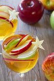 Apple Cider Sangria Royalty Free Stock Photography