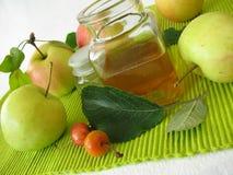 Apple cider vinegar Royalty Free Stock Photos