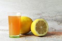 Free Apple Cider Vinegar And Lemons Royalty Free Stock Photography - 124979197