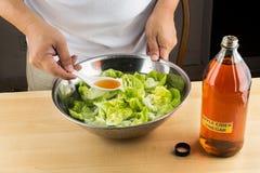 Apple cider vinegar effective natural remedy to remove pesticide Stock Photos