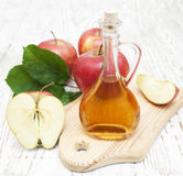 Apple cider vinegar Royalty Free Stock Images