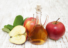 Apple cider vinegar Stock Photos