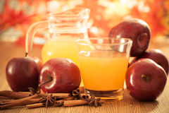 Apple cider vinegar Stock Image