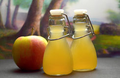 Apple cider vinegret Stock Photos