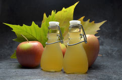 Apple cider vinegret Royalty Free Stock Images
