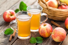 Apple cider stock image