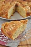 Apple Cinnamon Cake. On a plate Stock Photography