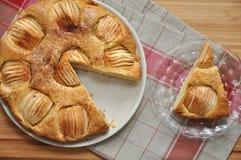 Apple Cinnamon Cake. On a plate Stock Photo