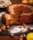 Apple Cinnamon Cake Royalty Free Stock Image
