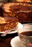 Apple Cinnamon Cake Royalty Free Stock Images