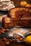 Apple Cinnamon Cake Royalty Free Stock Images