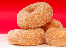 Apple Cinnamon donuts Royalty Free Stock Image