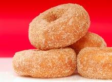Apple Cinnamon donuts royalty free stock image