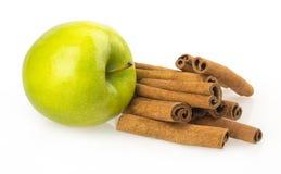 Apple, cinnamon Stock Photography