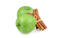 Apple, cinnamon Royalty Free Stock Image