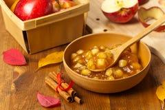 Apple Cinnamon Pie Filling Royalty Free Stock Image