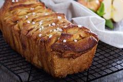 Apple cinnamon pull-apart bread Stock Photo