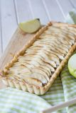 Apple Cinnamon tart selective focus Royalty Free Stock Images