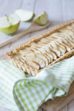 Apple Cinnamon tart selective focus Stock Photo