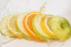 Apple citronapelsiner Royaltyfri Foto