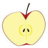Apple clipart Arkivbilder