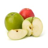 Apple close up Royalty Free Stock Photography