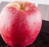 Apple in close up Royalty Free Stock Images
