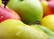 Apple closeup Royalty Free Stock Photos