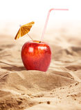 Apple cocktail Royalty Free Stock Image