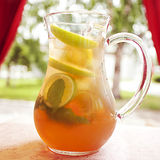 Apple cocktail juice Royalty Free Stock Photography
