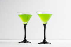 Apple cocktail Royalty Free Stock Images