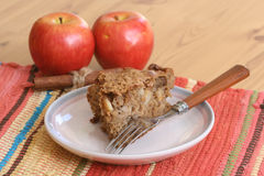 Apple Coffee Cake Royalty Free Stock Image