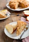 Apple coffeecake Στοκ Εικόνες