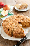 Apple coffeecake Royalty Free Stock Images