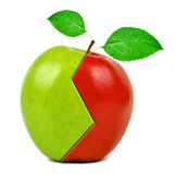 Apple collage Stock Images