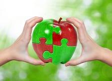 Apple-Collage Stockfoto