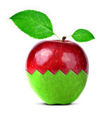 Apple collage Royalty Free Stock Photography