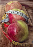 Apples, vegetarian kitchen Stock Photo